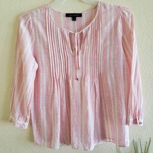 Tommy Hilfiger stripe tunic top size M